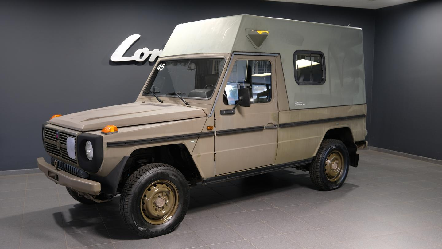 Lorinser also sells hardtop Puch 230 GE models without the motorhome love