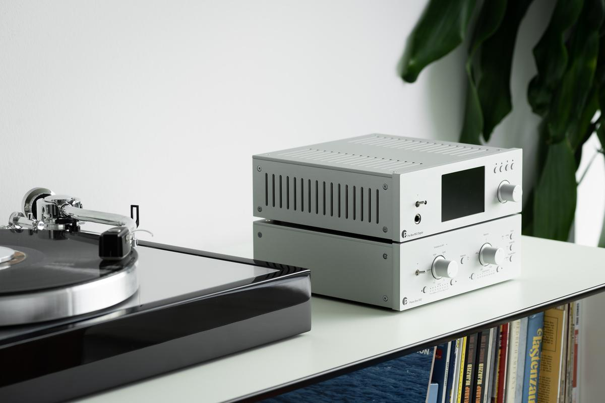 Pro-Ject describes the Phono Box RS2 as its most sophisticated phono pre-amp to date