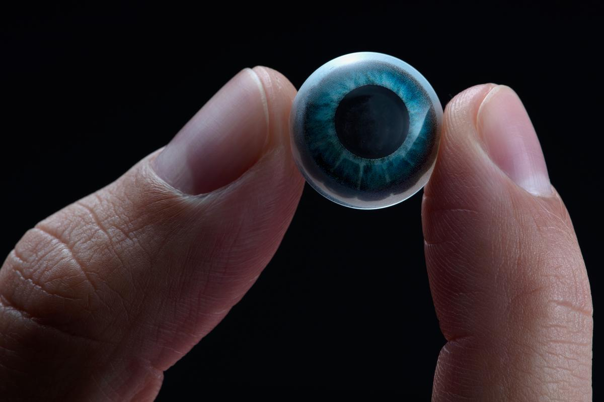 Here's HUD in your eye – the prototype Mojo Lens