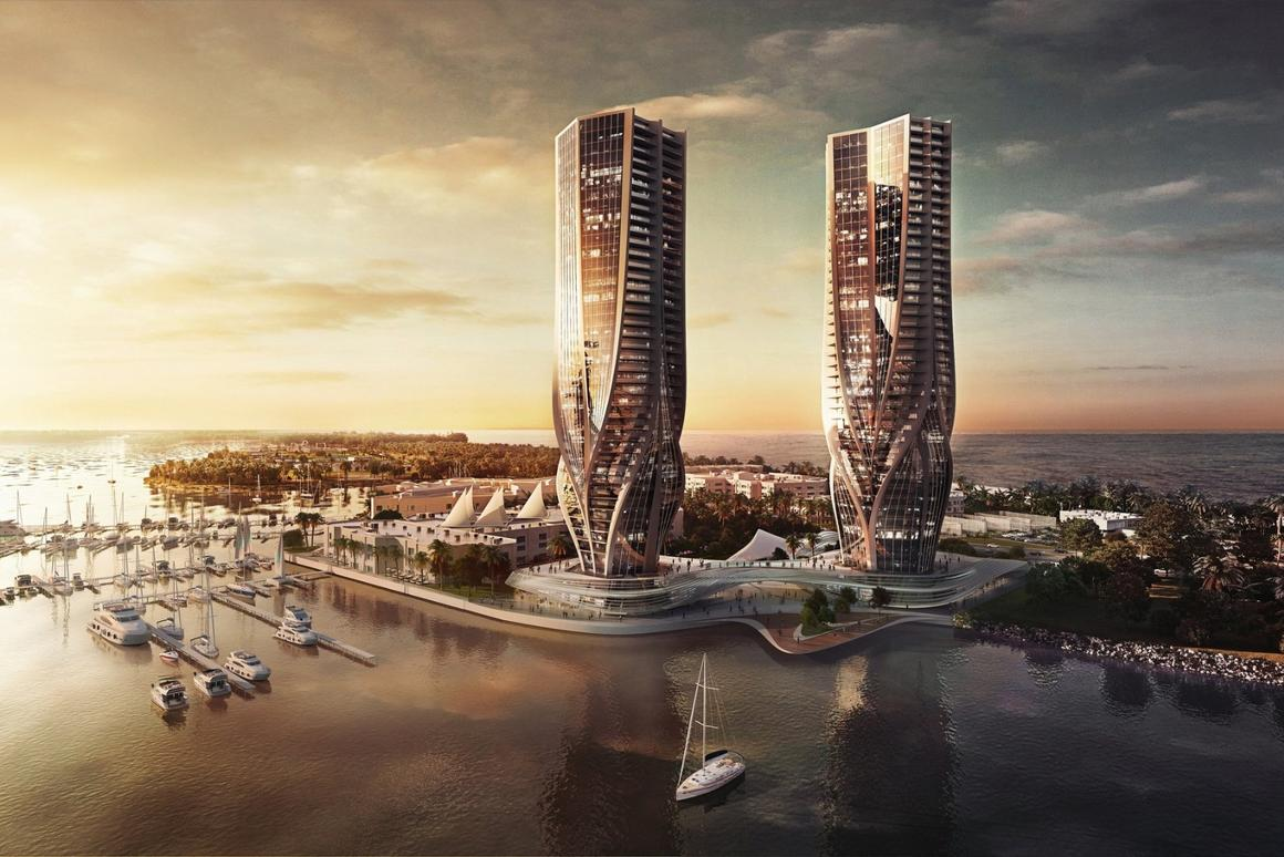 Zaha Hadid has designed two new towers for Gold Coast, Queensland, Australia