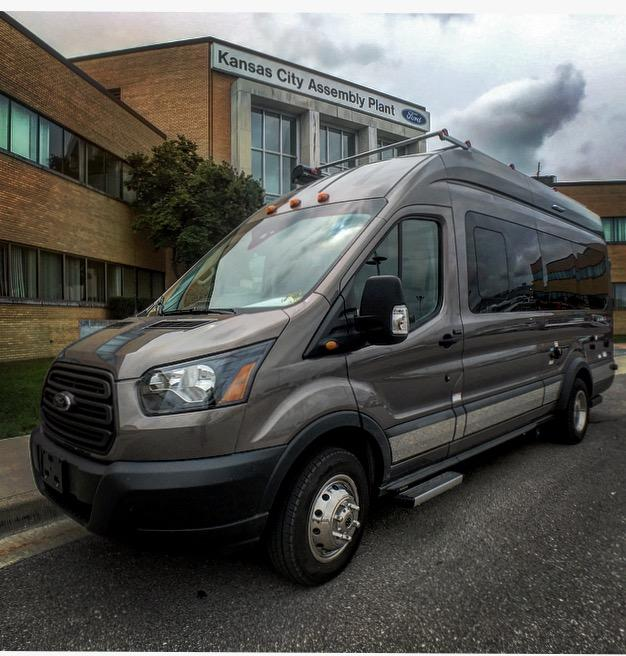 Winnebago debuted its latest camper van at the Elkhart Open House RV event