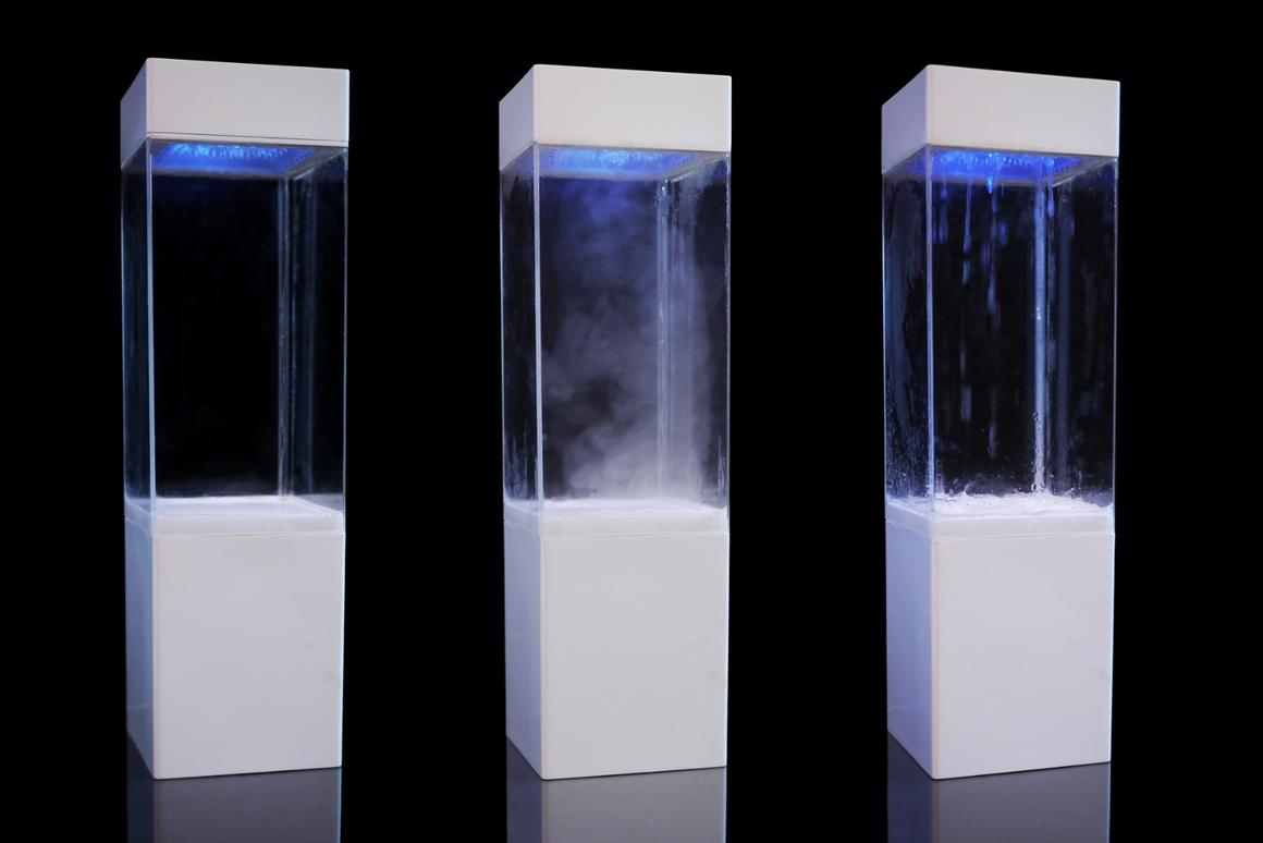 The Tempescope will physically recreate weather conditions to match the forecast