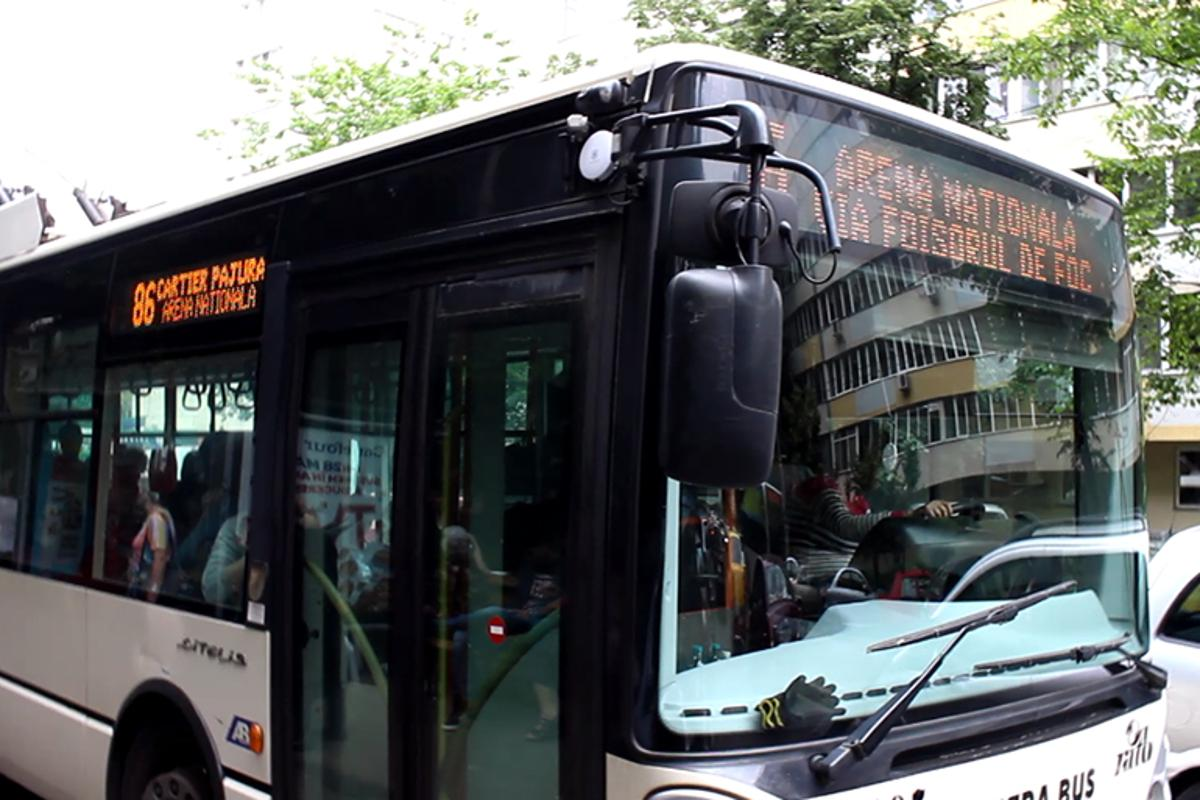 The Smart Public Transport project uses iBeacon devices to connect passengers with buses