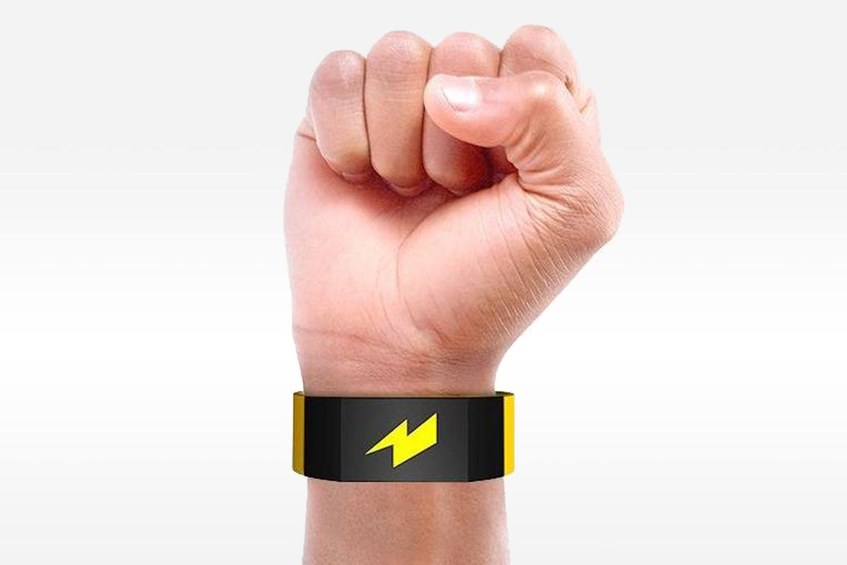 Pavlok is a wearable that shocks the user bad habits are detected