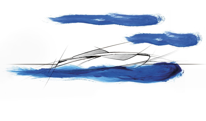 Nerea Yacht NY24 sketch