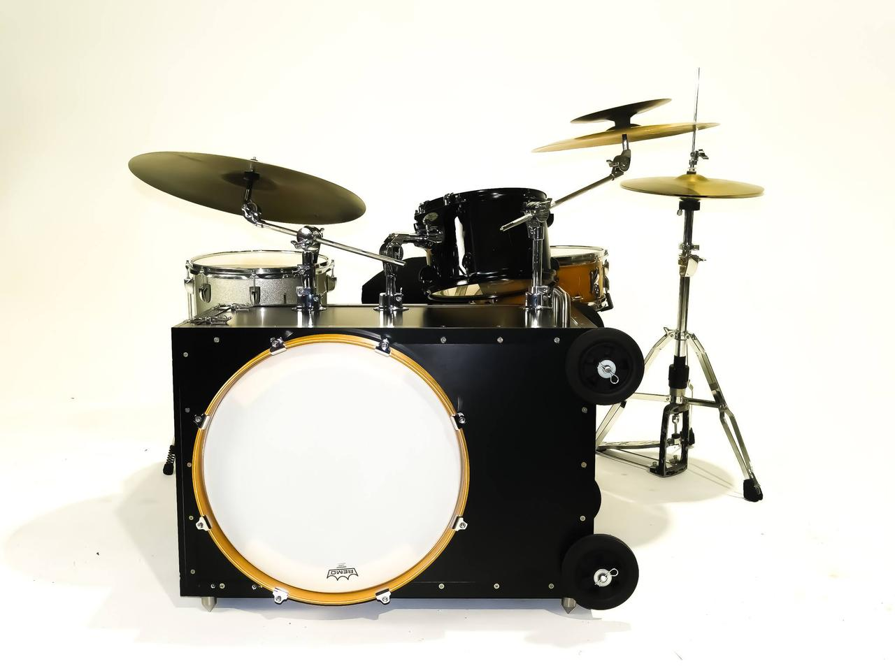 The Drum Roller project is raising production funds on Kickstarter