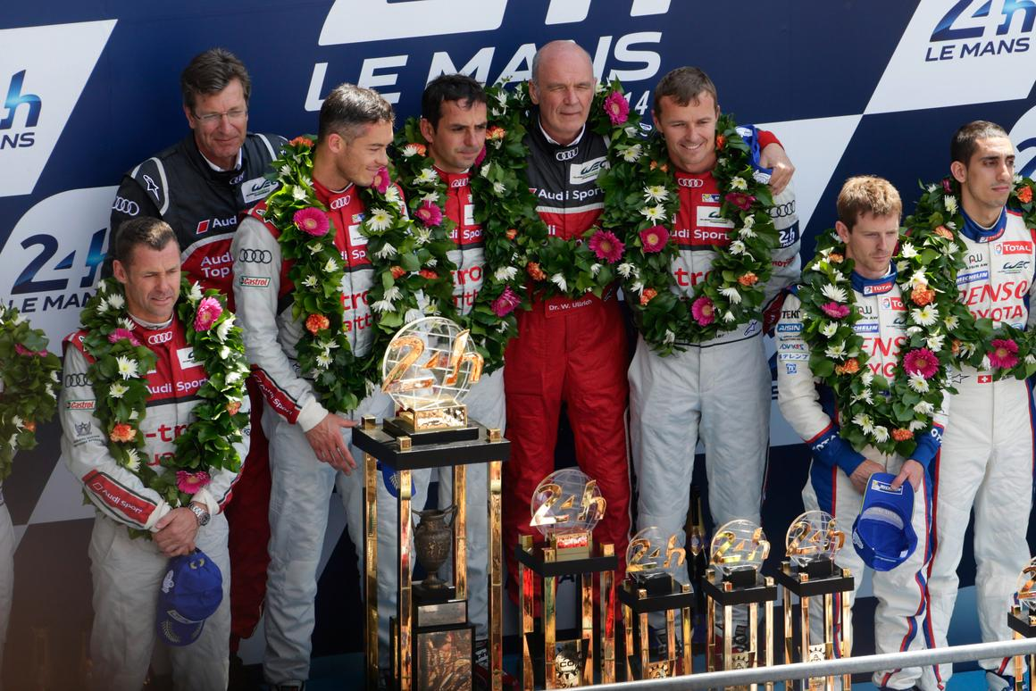 The Audi team proved that it knows how to win
