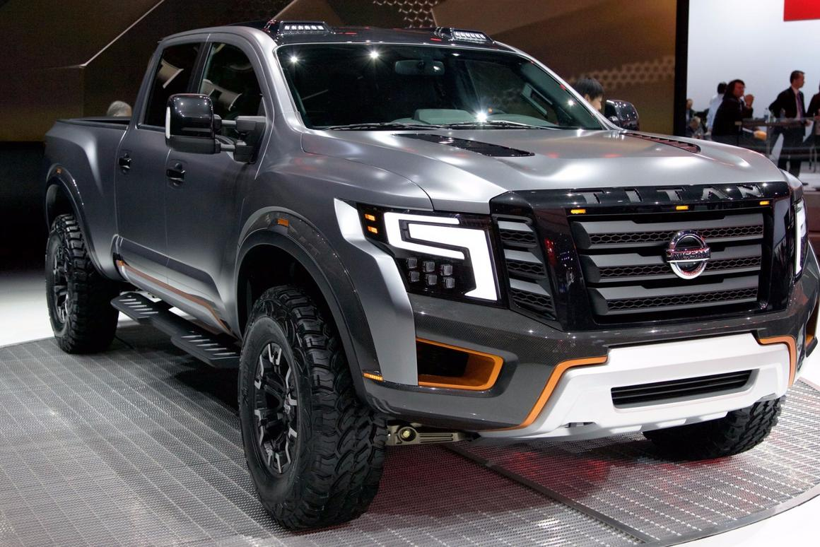 The Titan Warrior's front fascia has been completely restyled to give it more of a high-tech look