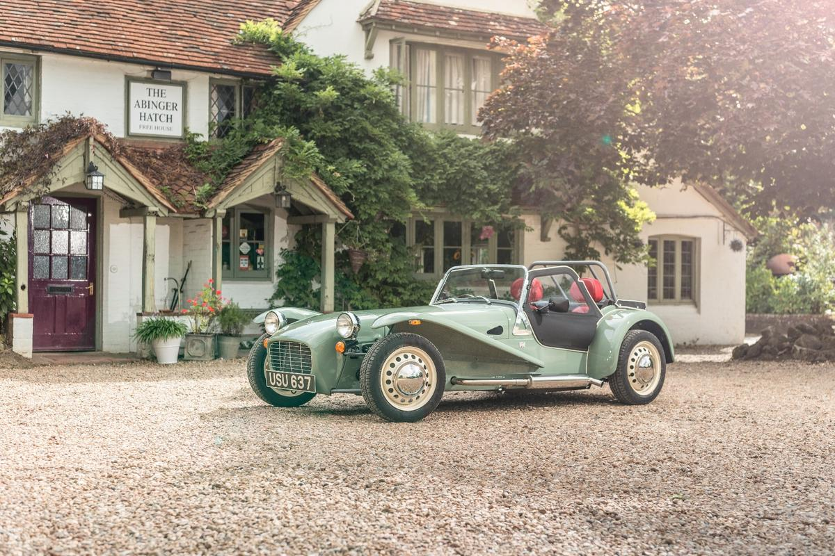 The SevenSprint is a sixtieth birthday present to Caterham