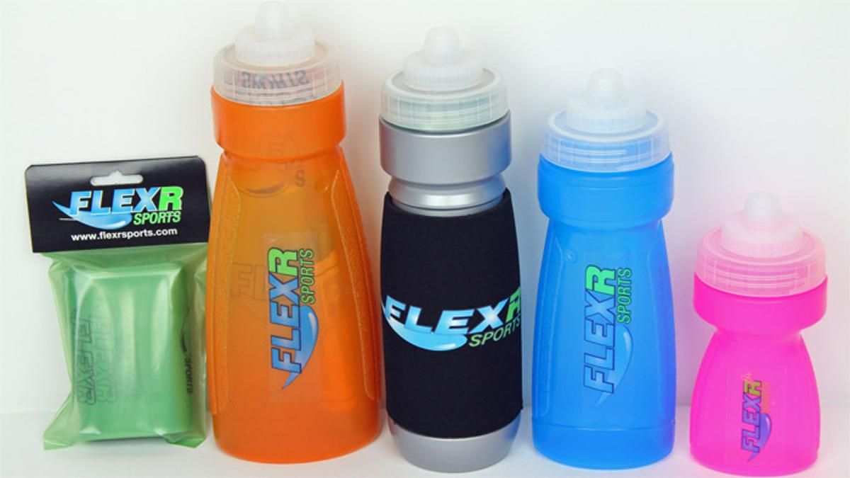 FLEXR Sports Bottle uses a liner to keep clean