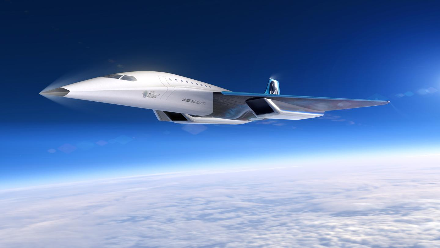 The aircraft concept would operate from conventional airports