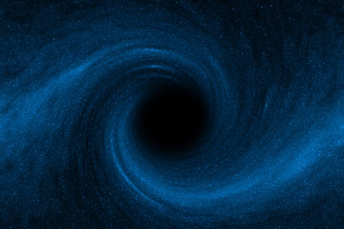 Astronomers are suggesting that the radiation and winds from supermassive black holes at the center of galaxies halts star generation within the galaxy (Image: Shutterstock)