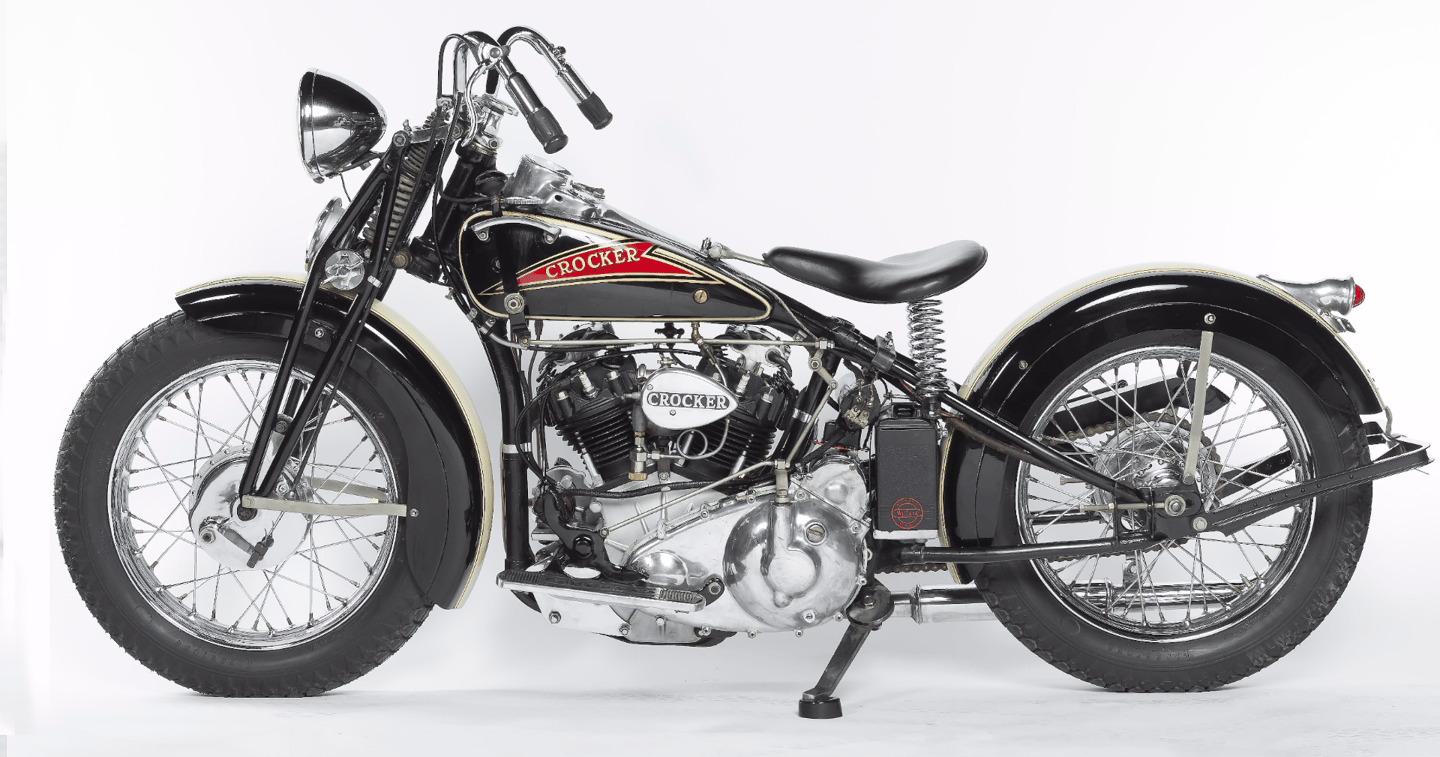 Original American Crocker superbike expected to sell for