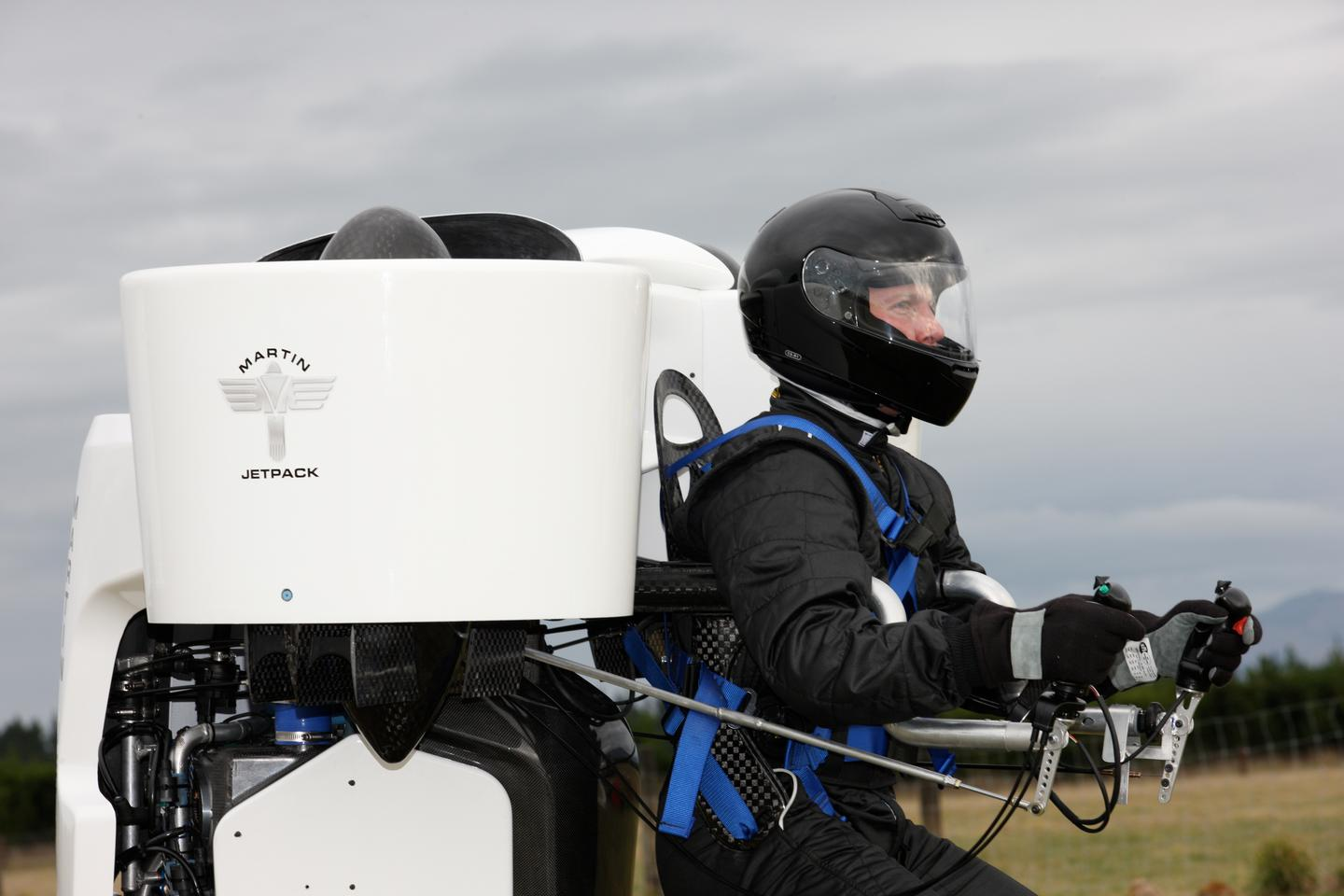 The Martin Aircraft jetpack is the first commercially-available jetpack