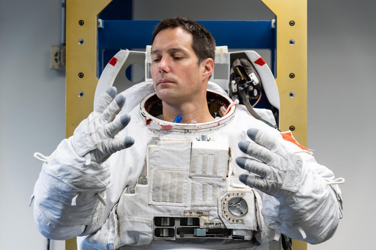 ESA is looking for ways to make shared spacesuits more hygienic