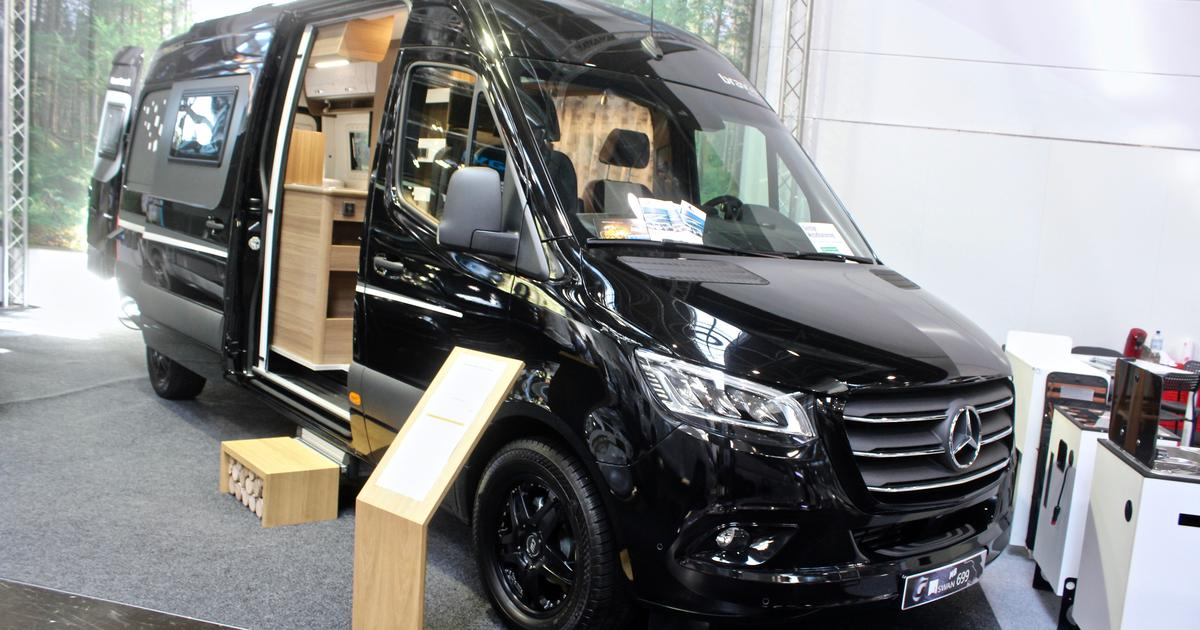 Bravia Mercedes camper van has stealthy city style and adventurous ambitions