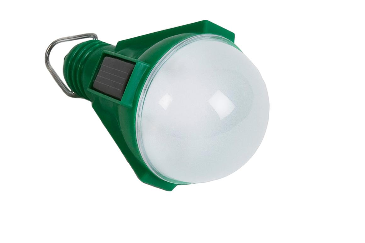 Nokero's N100 weatherproof solar lightbulb could provide a clean, safe and affordable lighting alternative to fuel-based illumination currently used by a quarter of the world's population