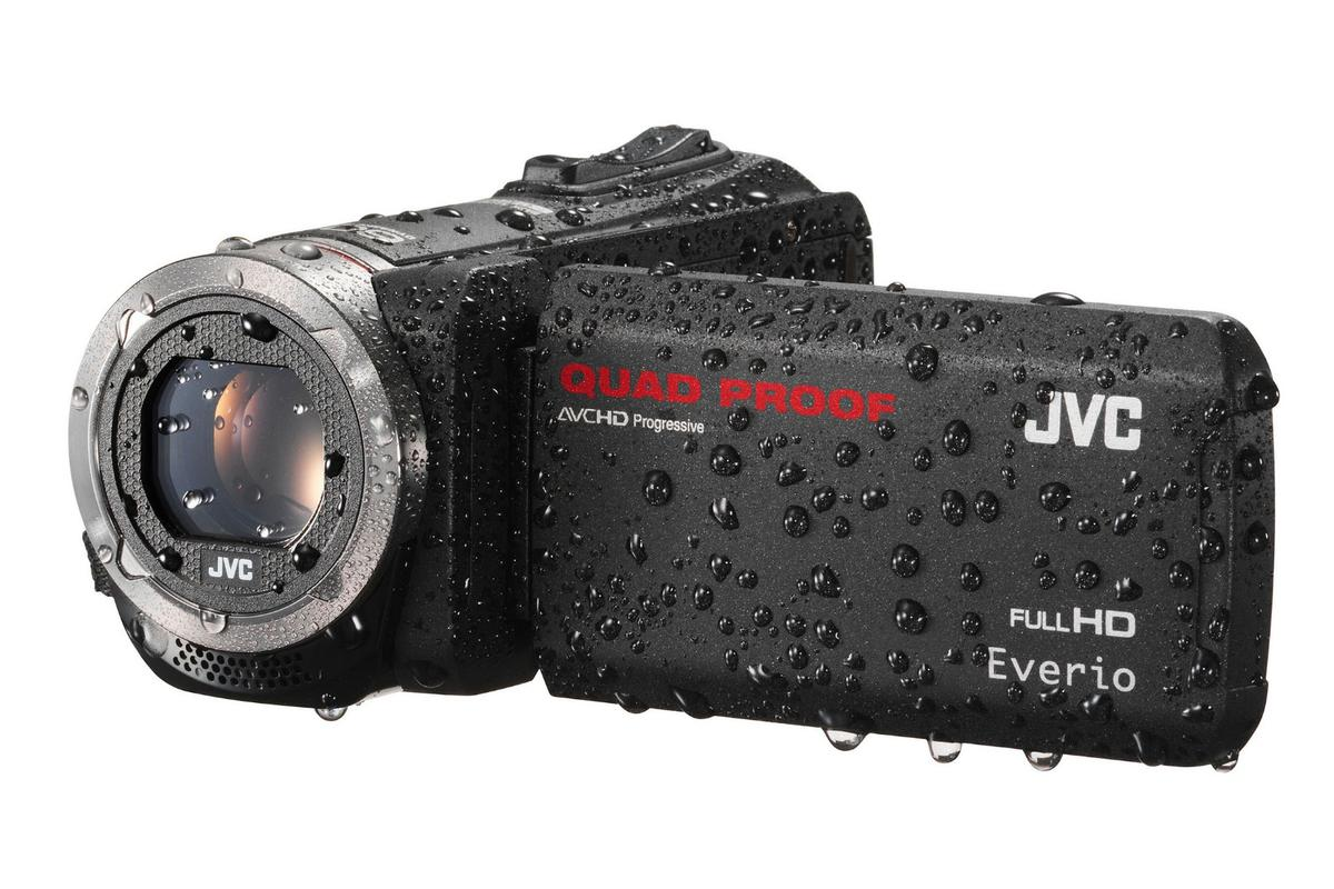 The JVC Everio GZ-R450 and GZ-R320 are a pair of new rugged camcorders