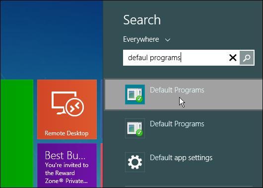How to make Windows 8 Metro open files on the desktop