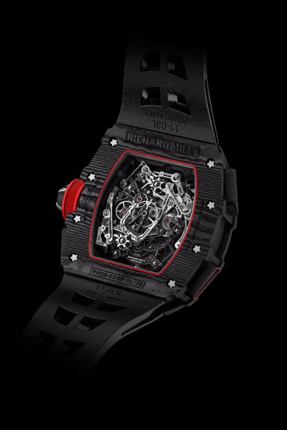 The back of the Richard Mille RM 50-03