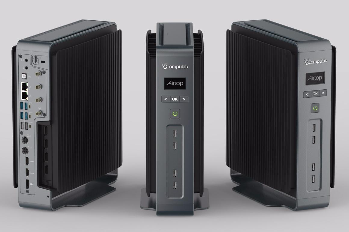 A powerful desktop PC that's completely silent? CompuLab's