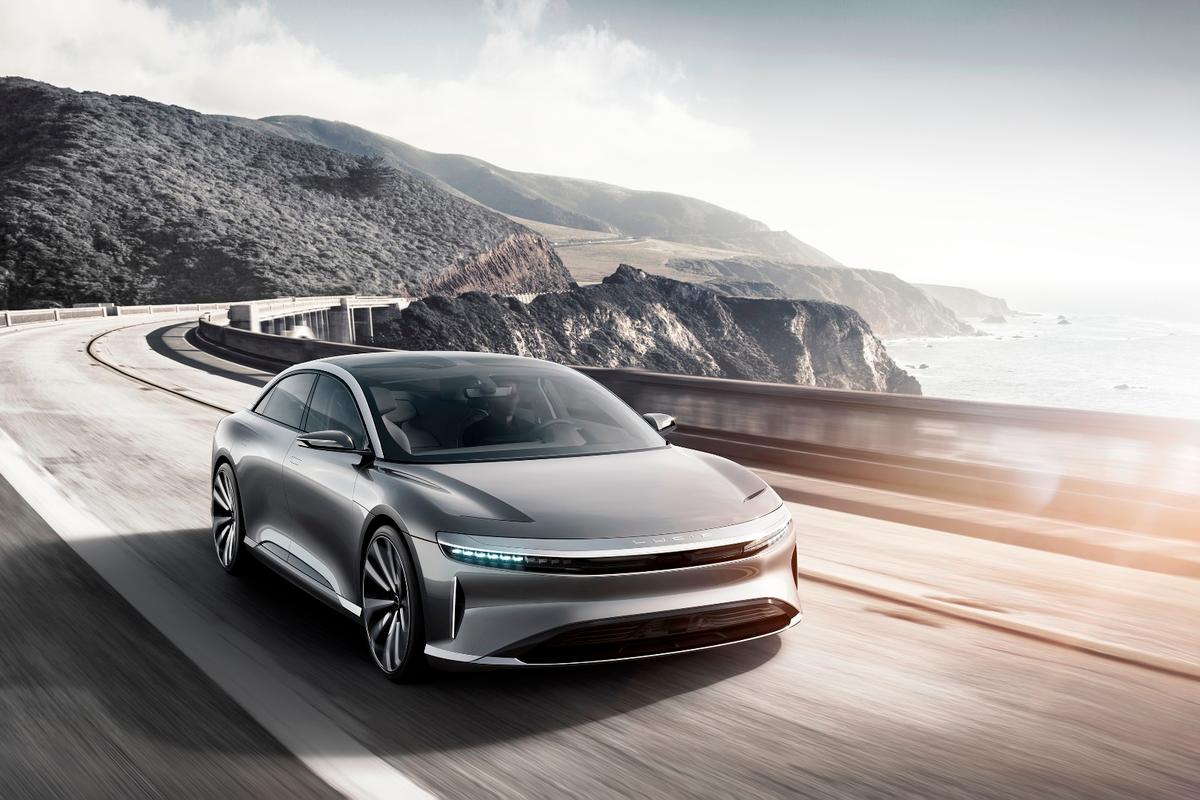 The new Lucid Air is expected to go into production in 2018