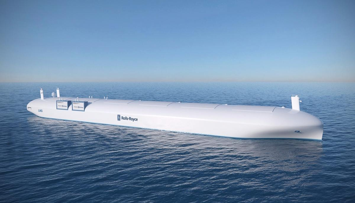 In the not too distant future, robotic ships without any decks could be sailing the world's oceans