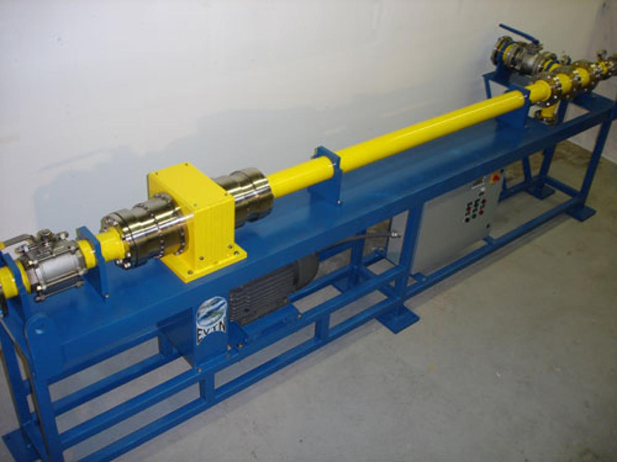 EVTN's Voraxial 4000 Separator uses centrifugal force to separate oil from water