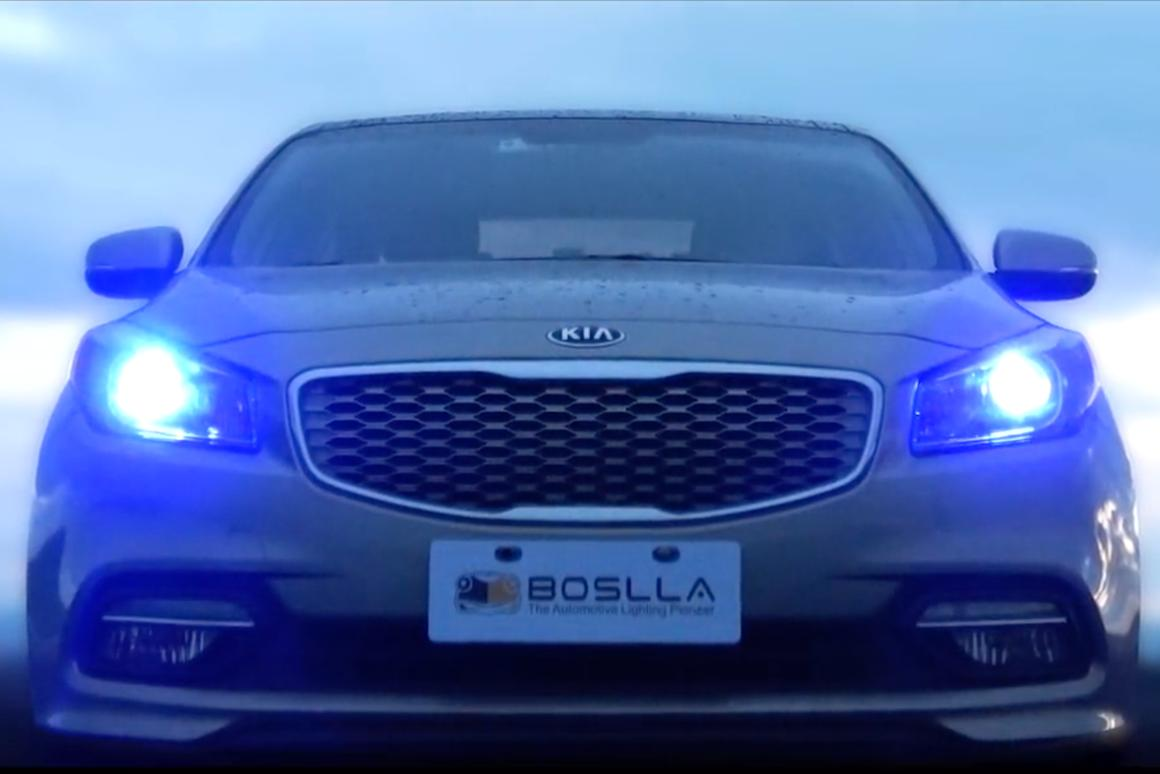 Boslla RGB DRL Headlight Bulbs are deigned for super clear vision and superior safety at night