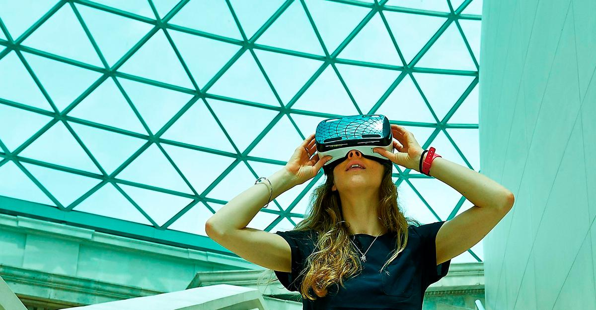The Virtual Reality Weekend is the British Museum's first virtual reality visitor experience