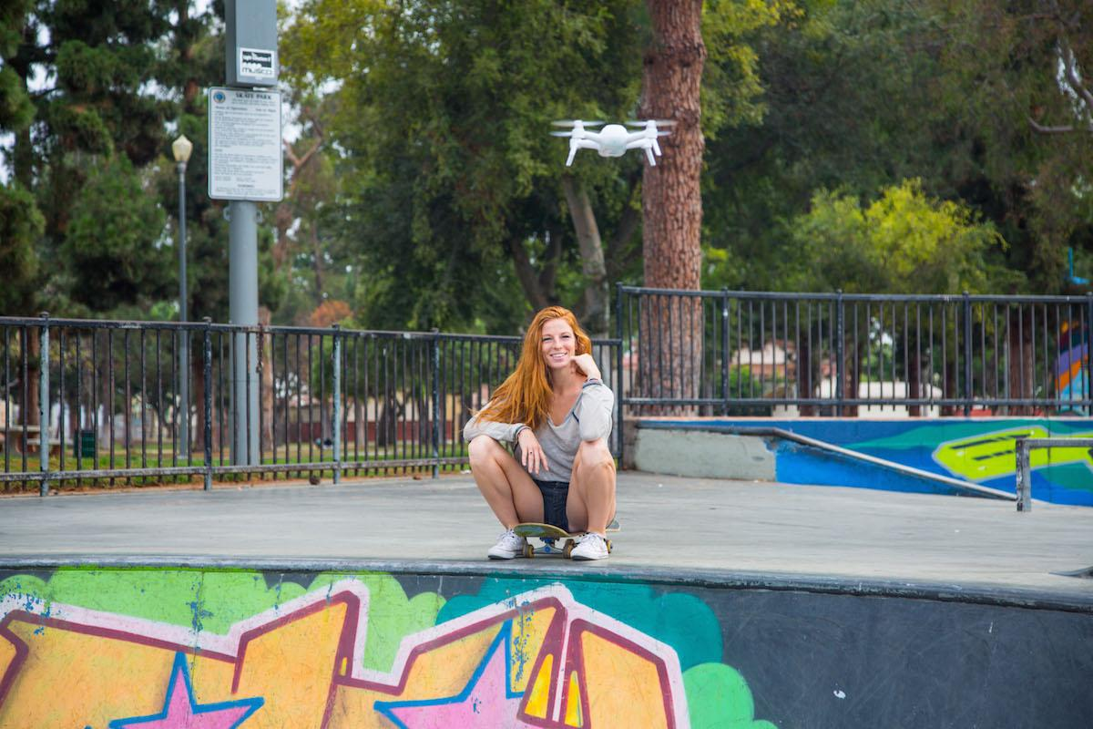 Yuneec has added livestreaming capabilities to its selfie-focusedBreeze drone