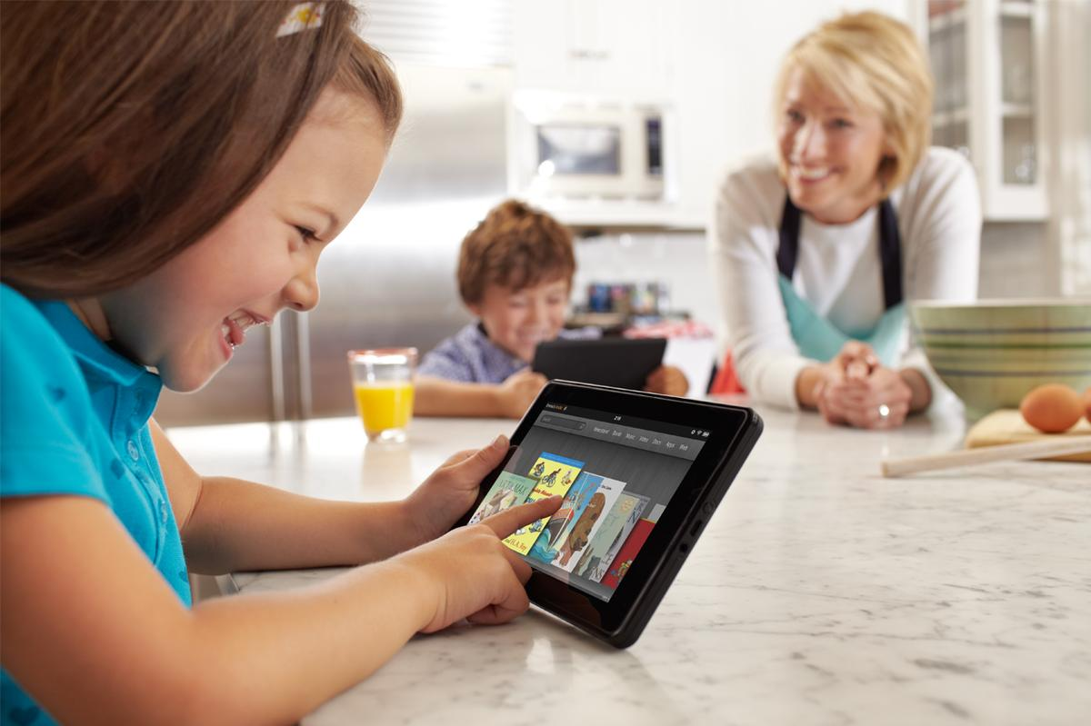 Amazon has unveiled its new 7-inch, color touchscreen tablet - the Kindle Fire