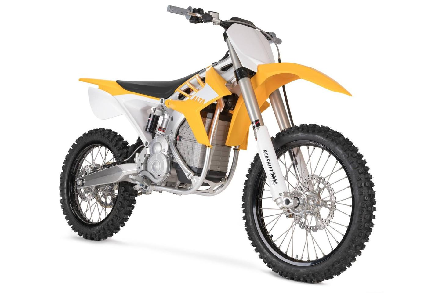 The Redshift MX is Alta Motors' flagship model