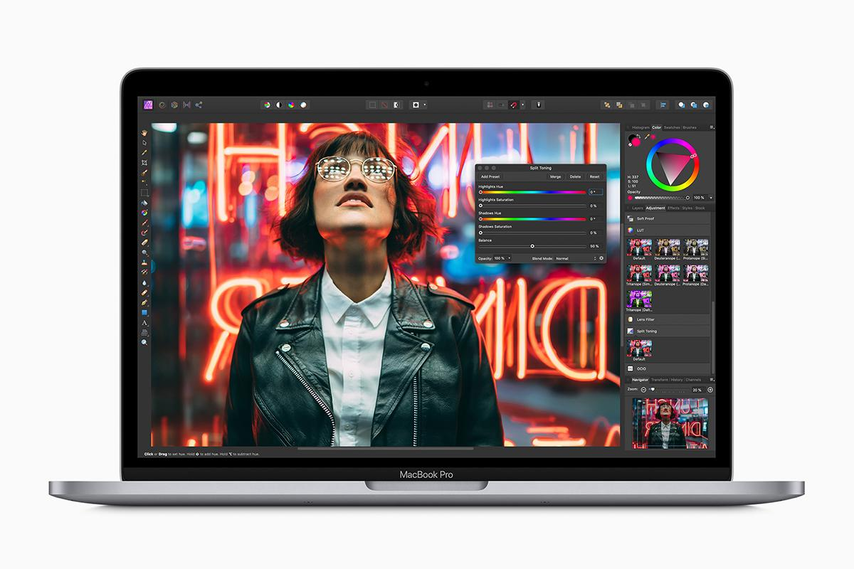 Processor, RAM, and storage improvements are available on the new 13-inch MacBook Pro
