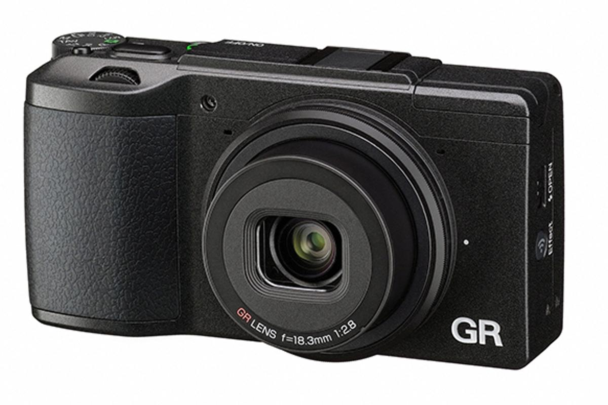 The Ricoh GR II is the first GR camera to feature built-in Wi-Fi and NFC