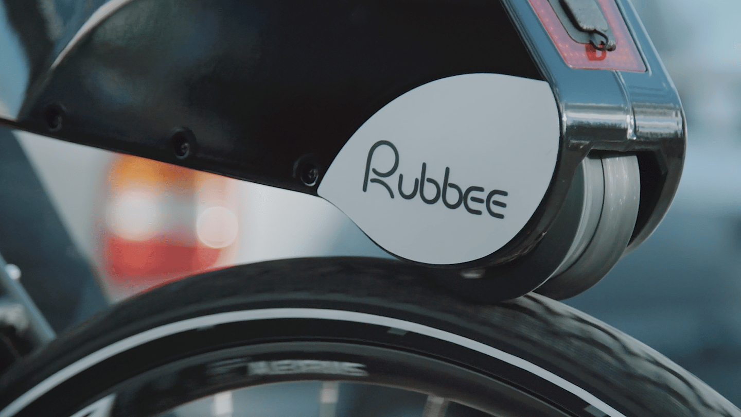 The Rubbee X delivers a shot of power to your rear wheel