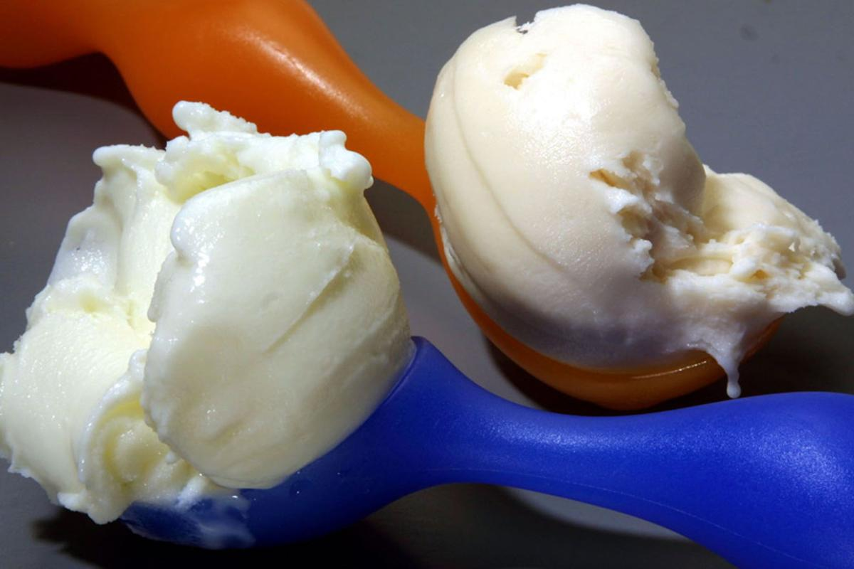 Fraunhofer researchers have developed a non-dairy ice cream alternative called Lupinesse