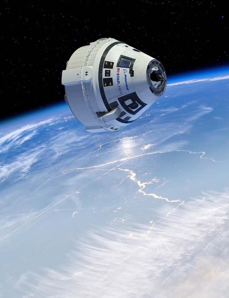Artist's concept of the CST-100 Starliner