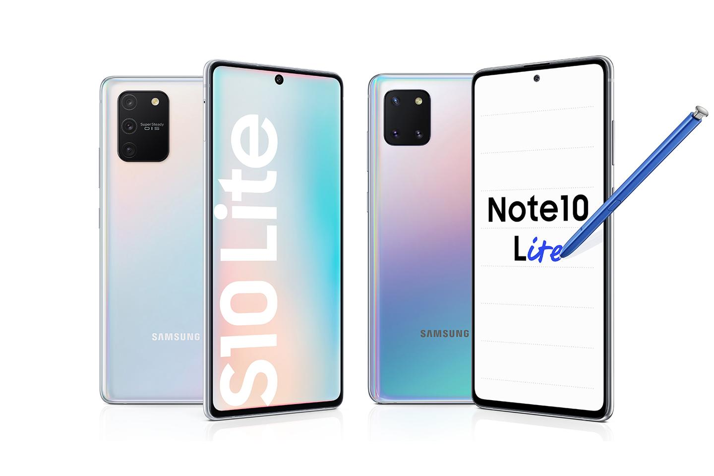 Samsung starts 2020 with two Lite handsets