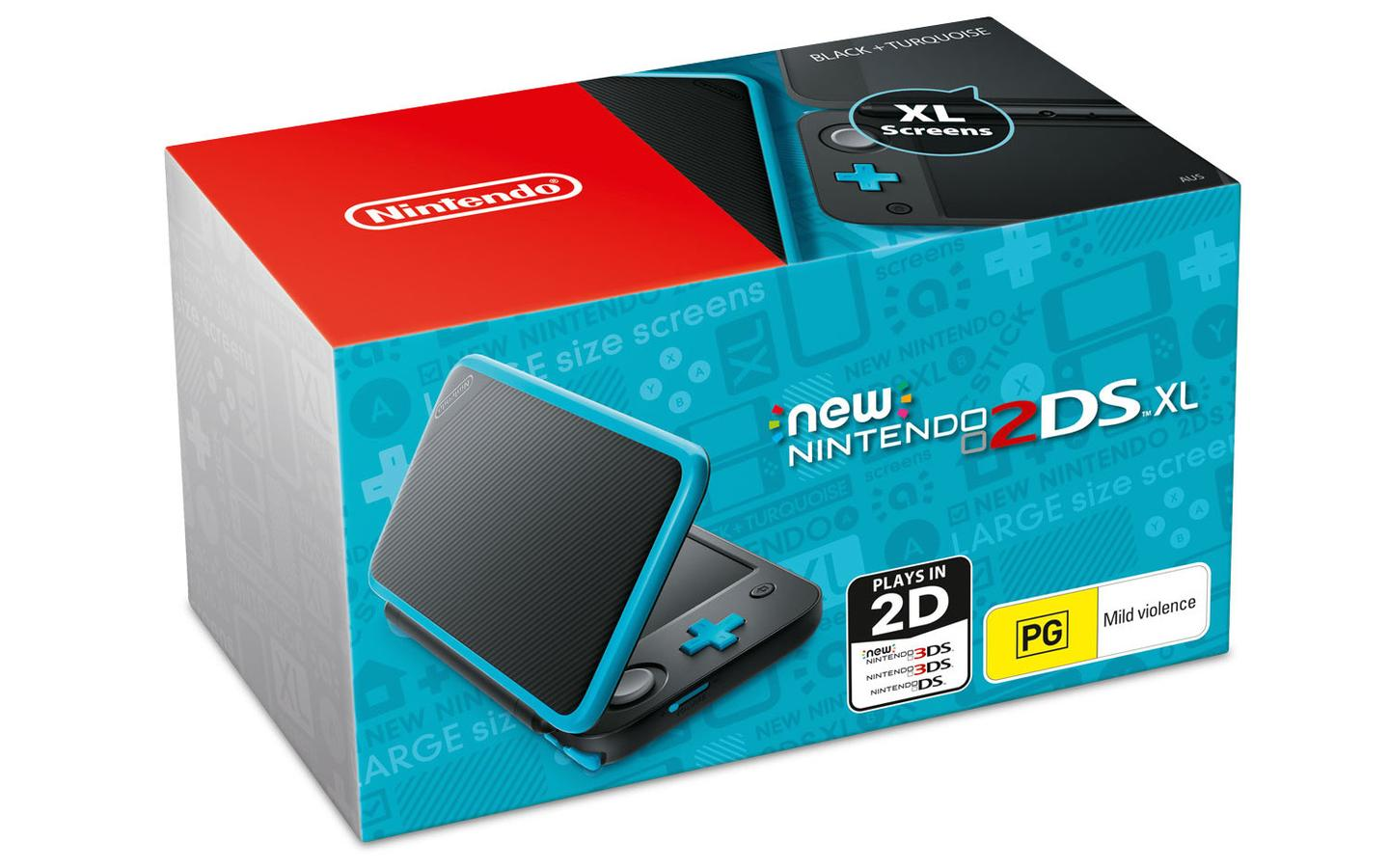 The New Nintendo 2DS XL will be available in North America on July 28, and will cost US$149.99