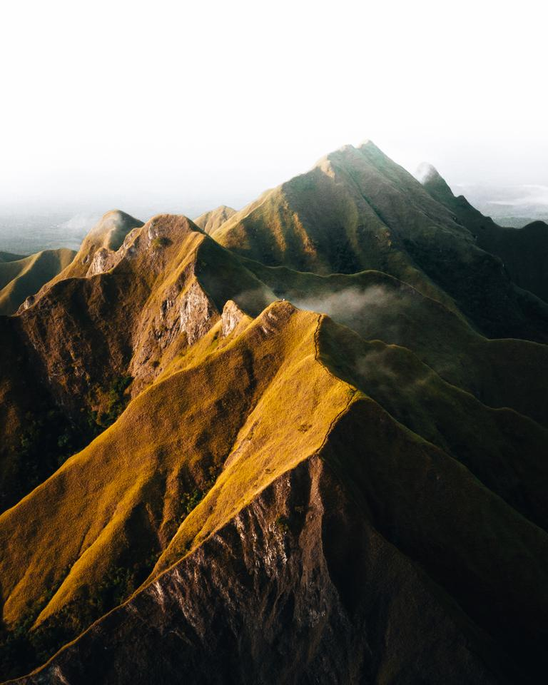 'A magical sunrise'. Los Picachos de Ola, Panama