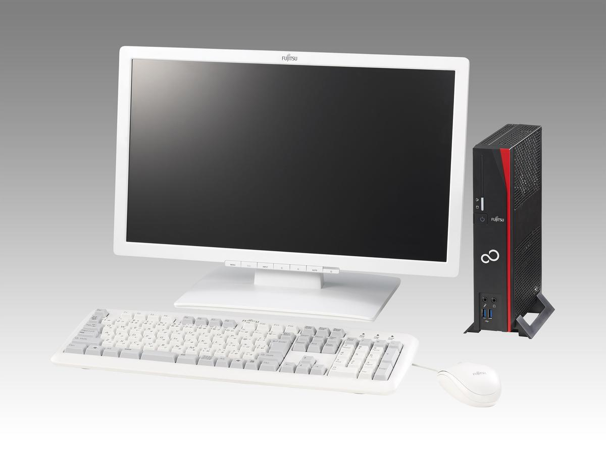 The Futro S720, one of 10 new Fujitsu business systems