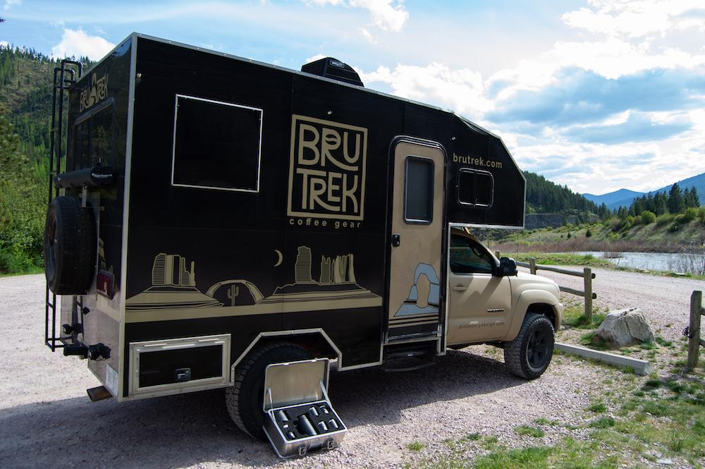 The BruTrek Expedition Coffee Set is as ready to travel as any good expedition truck