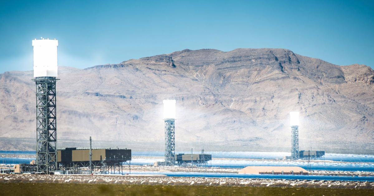 Energy storage advance readies concentrated solar power for the smart grid