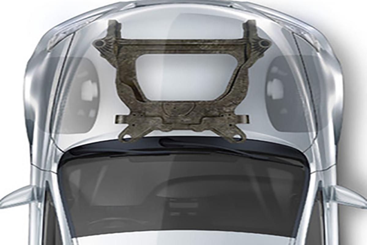 Magna and Ford have teamed up for carbon fiber subframes