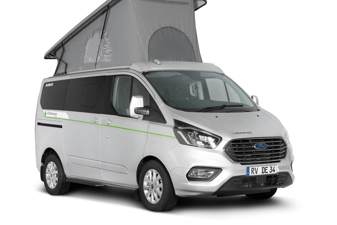 Ford Rv Van >> Dethleffs Makes Camping Greener With Plug In Camper Van
