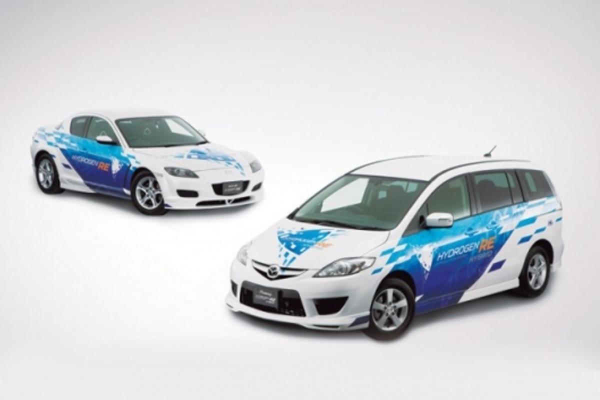 Efficiency gains: Mazda's hydrogen hybrids