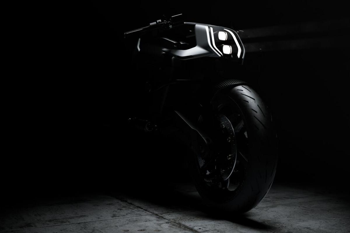 Arc's ambitious Vector - a high-performance electric motorcycle designed to work in concert with a HUD helmet and haptic jacket