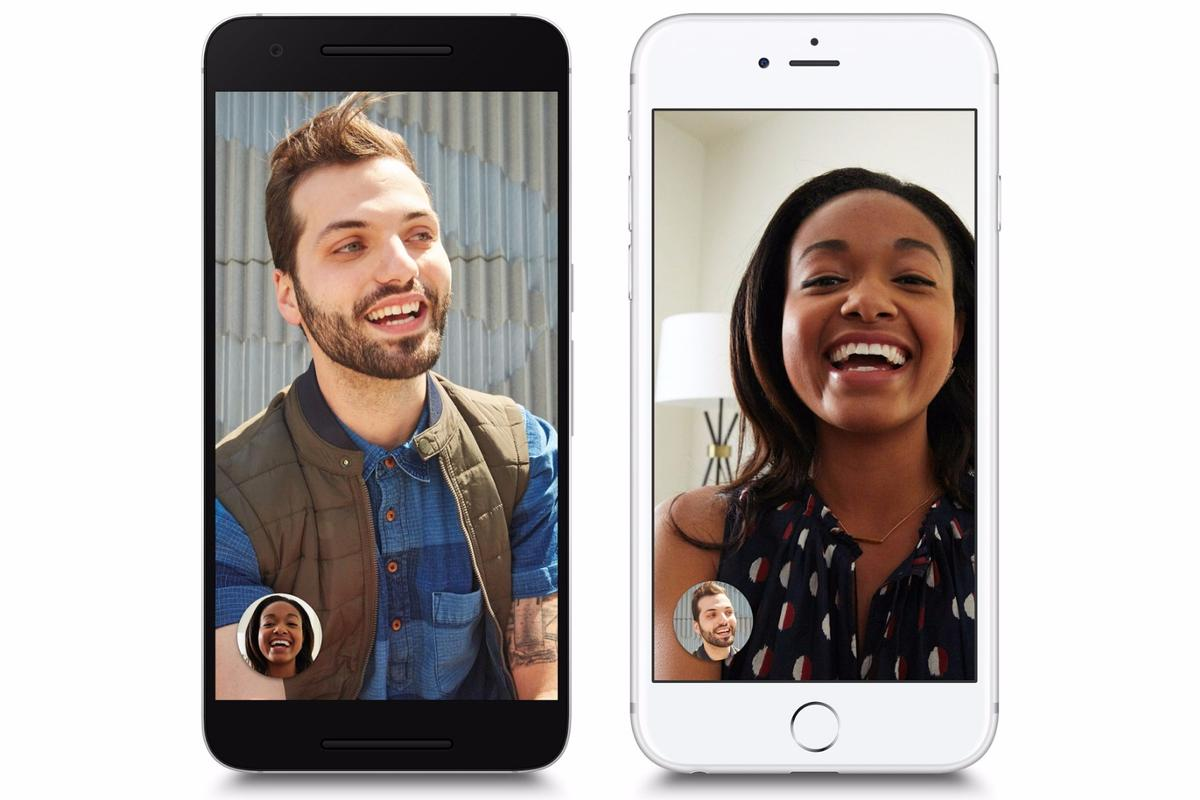 Google Duo works across iOS and Android devices