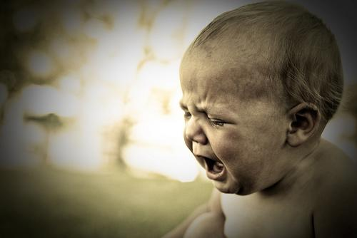 Have Japanese researchers discovered how to analyze a baby's cry?Image: Flickr, memekode's photostream